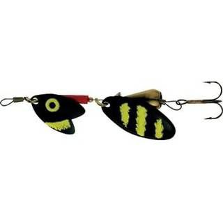 Mepps Tandem Trout, 2, Black/Yellow