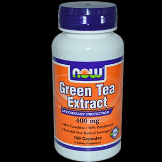 NOW Энергетик NOW Green tea extract (100 капсул)