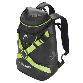 Head Rebels Backpack Racing 22 black/neon yellow