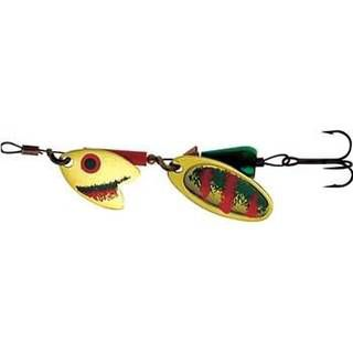 Mepps Tandem Trout, 0, Gold/Green/Orange