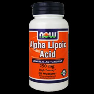 NOW NOW Alpha Lipoic Acid 250 мг (60 капсул)