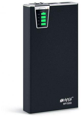 HIPER Power Bank MP15000 Black