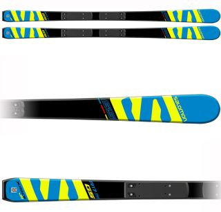 Salomon Skis I X-Race Jr GS + Race Plate Jr (16-17)