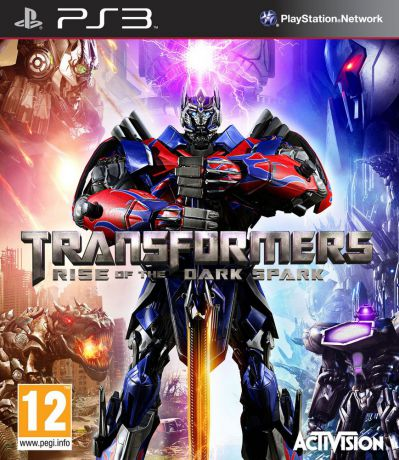 Activision Transformers: Rise of the Dark Spark (русская документация)