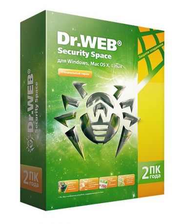 Dr.Web Security Space (2ПК/2года)