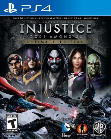 WB Interactive Injustice Gods Among Us.Ultimate Edition (русские субтитры)