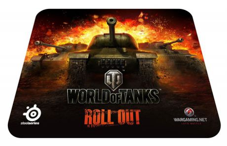 SteelSeries SS QcK World of Tanks edition Black (67269)