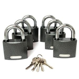 Висячие замки apecs pd-01-63 6locks+5keys 00011651
