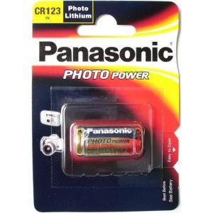 Батарейки panasonic cr123 3в 1шт 5410853017097
