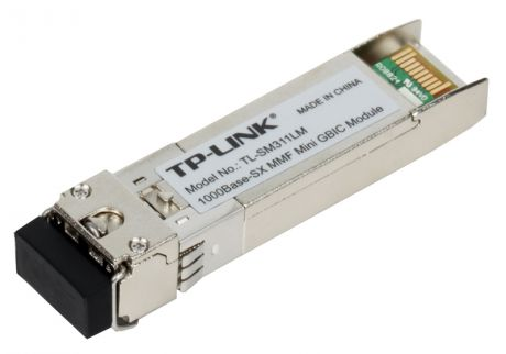 Модуль SFP TP-LINK TL-SM311LM Gigabit SFP module, Multi-mode, MiniGBIC, LC interface, Up to 550/275m distance
