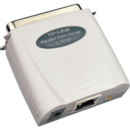 Принт-сервер TP-LINK TL-PS110P Single parallel port fast ethernet print server