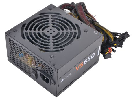 Блок питания Corsair 650W (VS650) v.2.31,A.PFC,Fan 12 cm,Retail