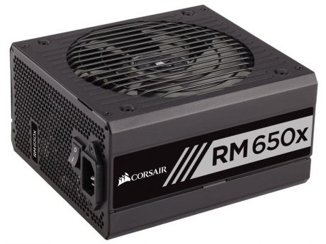 Блок питания Corsair 650W Enthusiast Series (RM650x) v.2.4,A.PFS,80 Plus Gold,Fan 13,5 cm,Fully Modular,Retail