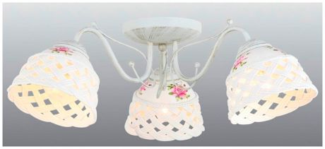 Arte Lamp Потолочная люстра arte lamp wicker a6616pl-3wg