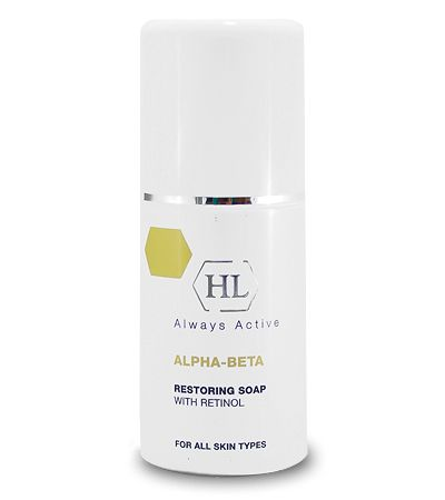 Holy Land Alpha Beta & Retinol Restoring Soap Обновляющее Мыло, 125 мл