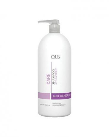 OLLIN PROFESSIONAL CARE Шампунь Против Перхоти Anti-Dandruff Shampoo, 1000 мл