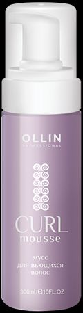 OLLIN PROFESSIONAL CURL HAIR Мусс для Создания Локонов Curls Building Mousse, 150 мл