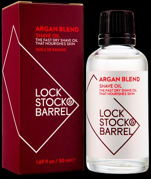 Lock Stock and Barrel Аргановое Масло для Бритья и Ухода за Бородой и Усами ARGAN BLEND SHAVE OIL, 50 мл