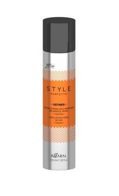 Kaaral STYLE Perfetto DEFINER EXTRA STRONG HOLD WORKING NO AEROSOL SPRAY  Лак без Газа Экстра Фиксации, 350 мл