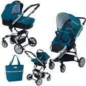 Foppapedretti детская коляска 3 в 1 foppapedretti super tres travel system