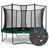 Berg Toys батут berg champion 430 tattoo + safety net comfort 430