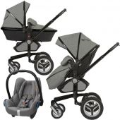 Silver Cross коляска 3 в 1 silver cross surf limited edition eton grey с автокреслом maxi-cosi