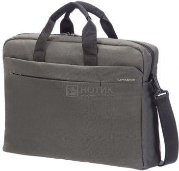 "Сумка 17,3"" Samsonite 41U*08*005, Полиэстер, Серый"