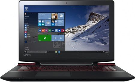 Ноутбук Lenovo IdeaPad Y700-15ACZ (15.6 IPS (LED)/ FX-Series 8800P 2100MHz/ 8192Mb/ HDD+SSD 1000Gb/ AMD Radeon R9 M385 4096Mb) MS Windows 10 Home (64-bit) [80NY0008RK]