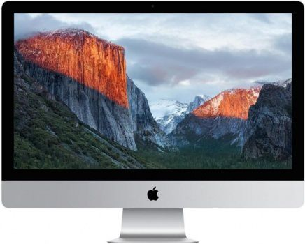 Моноблок Apple iMac MK142RU/A (21.5 IPS (LED)/ Core i5 5250U 1600MHz/ 8192Mb/ HDD 1000Gb/ Intel Intel HD Graphics 6000 64Mb) Mac OS X 10.11 (El Capitan) [MK142RU/A]