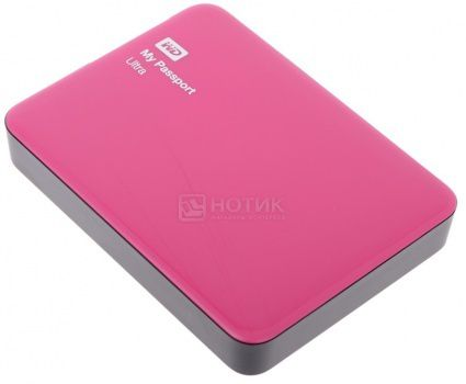 "Жесткий диск Western Digital 2Tb WDBNFV0020BBY-EEUE My Passport Ultra 2.5"" USB 3.0, Красный"