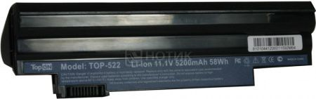 Аккумулятор TopON TOP-522-bp 11.1V 4400mAh для PN: AL10A31 AL10B31 AL10G31 LC.BTP00.128 LC.BTP00.129