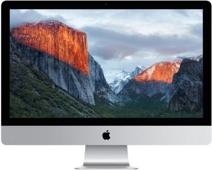 Моноблок Apple iMac MK442RU/A (21.5 IPS (LED)/ Core i5 5575R 2800MHz/ 8192Mb/ HDD 1000Gb/ Intel Intel Iris Pro Graphics 6200 64Mb) Mac OS X 10.11 (El Capitan) [MK442RU/A]