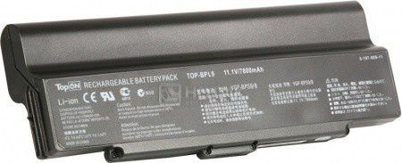 Аккумулятор TopON TOP-BPL9-NOCD 11,1V 6600mAh для Sony Vaio PN: VGP-BPL9 VGP-BPS9A/B VGP-BPS9/B VGP-BPS10