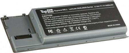 Аккумулятор TopON TOP-D620 11.1V 4800mAh для PN: KD494 JD634 PC764 TC030 312-0383 451-10298