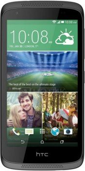 "Смартфон HTC Desire 526G Stealth Black (Android 4.4/MT6582 1300MHz/4.7"" (960x540)/1024Mb/8Gb/ 3G (EDGE, HSDPA, HSPA+)) [99HADU095-00]"