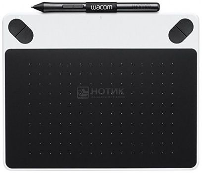 Графический планшет Wacom Intuos Draw Pen Smalll, Белый CTL-490DW-N