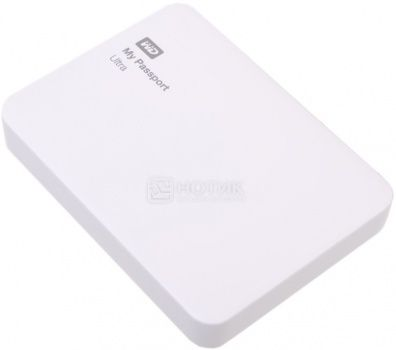 "Жесткий диск Western Digital 2Tb WDBNFV0020BWT-EEUE My Passport Ultra 2.5"" USB 3.0, Белый"