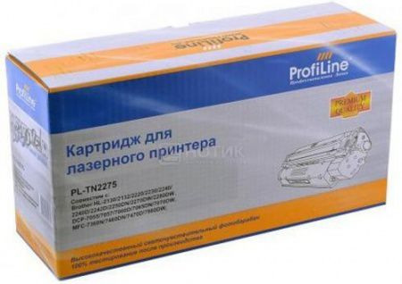 Картридж ProfiLine PL-TN-2275 для Brother HL-2240R 2240DR 2250DNR, Черный