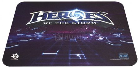 Коврик для мыши SteelSeries QcK Heroes of the Storm, Синий 63076