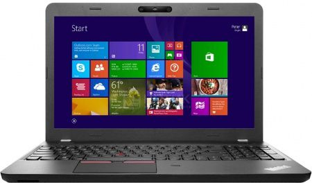 Ноутбук Lenovo ThinkPad Edge E550 (15.6 LED/ Core i3 5005U 2000MHz/ 4096Mb/ HDD 500Gb/ Intel Intel HD Graphics 5500 64Mb) Free DOS [20DFS07K00]