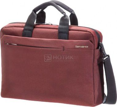 "Сумка 15-16"" Samsonite 41U*00*004, Полиэстер, Красный"