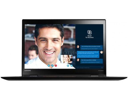 Ультрабук Lenovo ThinkPad X1 Carbon 4 (14.0 IPS (LED)/ Core i5 6200U 2300MHz/ 8192Mb/ SSD 256Gb/ Intel Intel HD Graphics 520 64Mb) MS Windows 7 Professional (64-bit) [20FCS0W000]