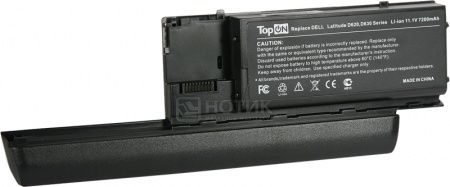 Аккумулятор TopON TOP-D620H 11.1V 7200mAh для Dell PN: KD494 JD634 PC764 TC030 312-0383 451-10298