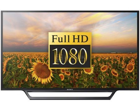 Телевизор SONY 40 KDL-40WD653 FHD, Smart TV, CMR 200, Черный