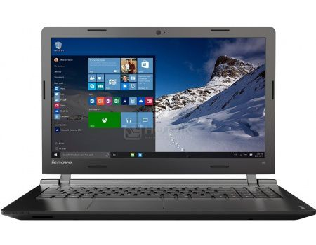 Ноутбук Lenovo IdeaPad 100-15 (15.6 LED/ Pentium Quad Core N3540 2160MHz/ 2048Mb/ HDD 500Gb/ Intel Intel HD Graphics 64Mb) MS Windows 10 Home (64-bit) [80MJ00DWRK]