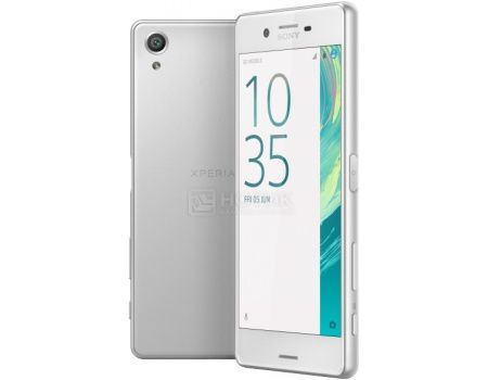 "Смартфон Sony Xperia X Dual White (Android 6.0 (Marshmallow)/MSM8956 1800MHz/5.0"" (1920x1080)/3072Mb/64Gb/4G LTE 3G (EDGE, HSDPA, HSPA+)) [F5122 White]"