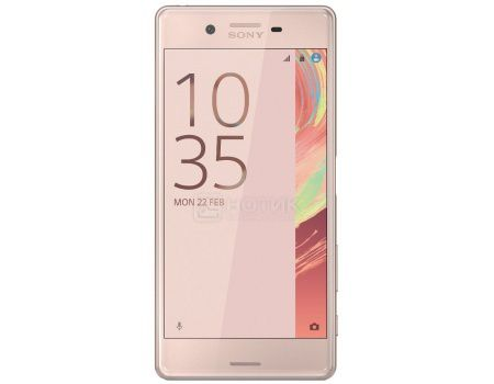"Смартфон Sony Xperia X Rose Gold (Android 6.0 (Marshmallow)/MSM8956 1800MHz/5.0"" (1920x1080)/3072Mb/32Gb/4G LTE 3G (EDGE, HSDPA, HSPA+)) [F5121Rose_Gold]"
