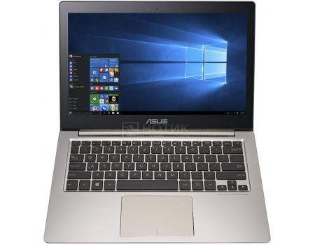 Ультрабук ASUS Zenbook UX303UA-R4259T (13.3 LED/ Core i3 6100U 2300MHz/ 4096Mb/ HDD 500Gb/ Intel Intel HD Graphics 520 64Mb) MS Windows 10 Home (64-bit) [90NB08V1-M04150]