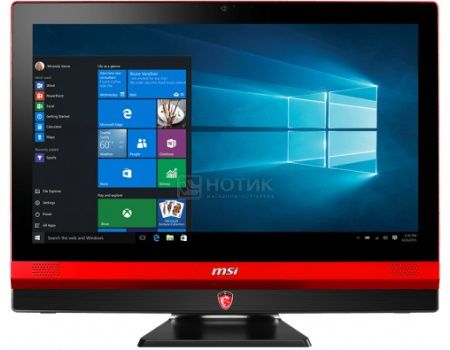 Моноблок MSI Gaming 24 6QE-032RU (23.6 IPS (LED)/ Core i7 6700HQ 2600MHz/ 8192Mb/ HDD 1000Gb/ NVIDIA GeForce® GTX 960M 4096Mb) MS Windows 10 Home (64-bit) [9S6-AEA111-032]