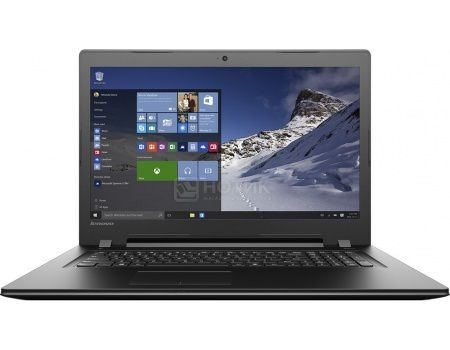 Ноутбук Lenovo IdeaPad B7180 (17.3 LED/ Pentium Dual Core 4405U 2100MHz/ 4096Mb/ HDD 500Gb/ Intel Intel HD Graphics 510 64Mb) Free DOS [80RJ00EYRK]